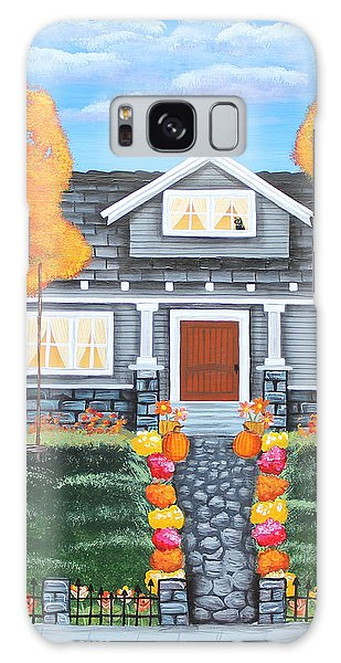 Home Sweet Home - Comes Autumn Galaxy Case