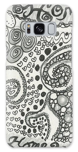 Home Sweet Home Galaxy Case
