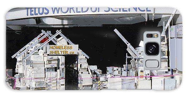 Homeless Shelter Galaxy Case