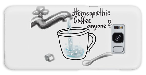 Homeopathic Coffee Galaxy Case