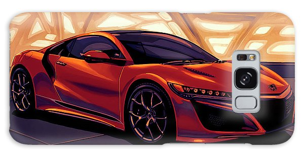 Coupe Galaxy Case - Honda Acura Nsx 2016 Mixed Media by Paul Meijering