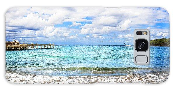 Honduras Beach Galaxy Case