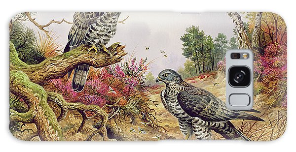 Honey Buzzards Galaxy Case by Carl Donner