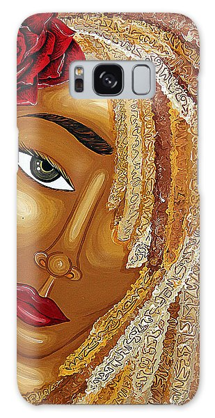 Galaxy Case featuring the painting Honey Love by Aliya Michelle