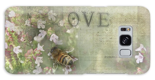 Honey Love Galaxy Case by Victoria Harrington