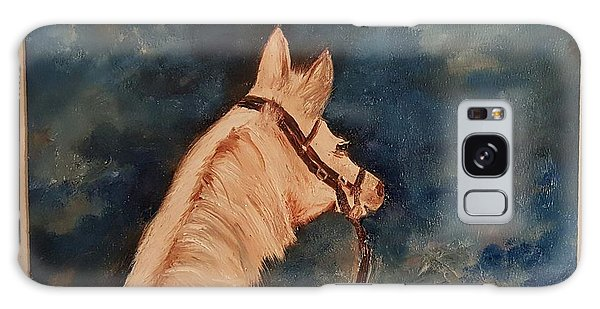 Honey Palomino Horse 28 Galaxy Case