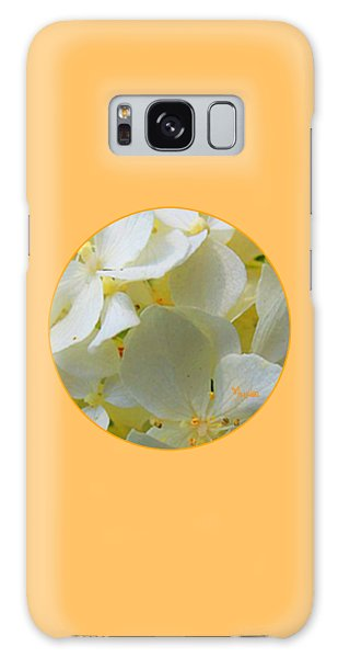 Honeysuckle Blossoms Galaxy Case