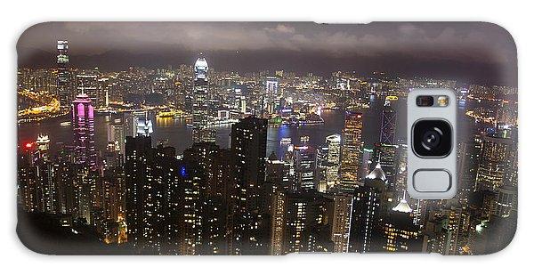 Hong Kong At Night Galaxy Case