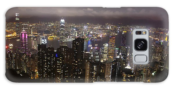 Hong Kong At Night Galaxy Case