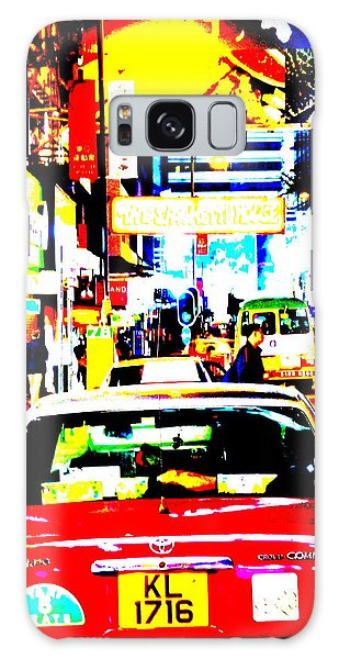 Hong Kong Cabs Galaxy Case by Funkpix Photo Hunter