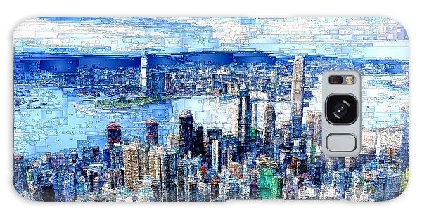Galaxy Case featuring the digital art Hong Kong, China by Rafael Salazar