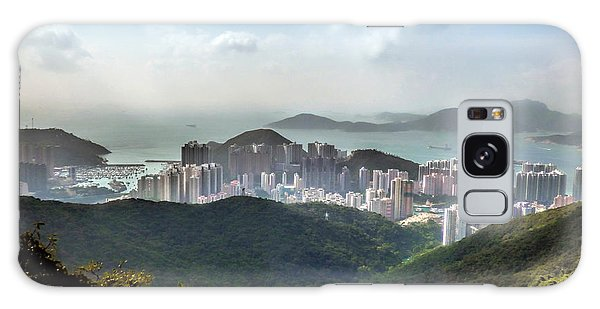 Hong Kong From Victoria Peak Galaxy Case