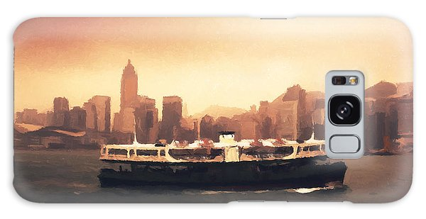 Hong Kong Harbour 01 Galaxy Case by Pixel  Chimp