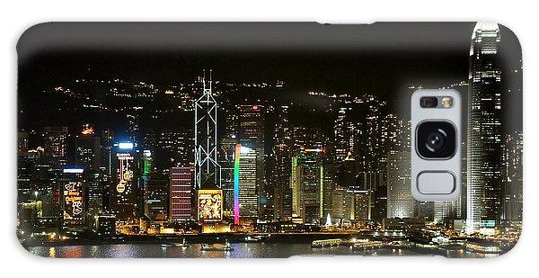 Hong Kong On A December Night Galaxy Case