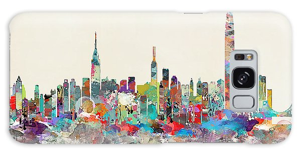 Hong Kong Galaxy S8 Case - Hong Kong Skyline by Bleu Bri