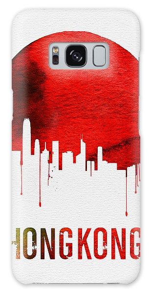 Hong Kong Skyline Red Galaxy Case