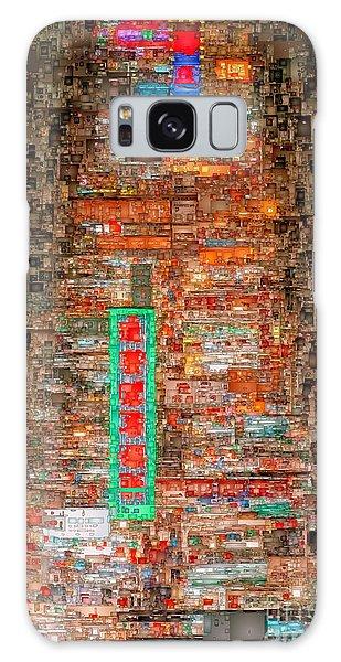 Galaxy Case featuring the digital art Hong Kong -yaumatei by Rafael Salazar