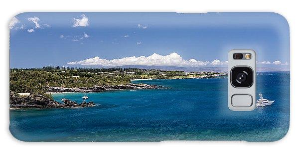 Honolua Bay Galaxy Case by Jim Thompson
