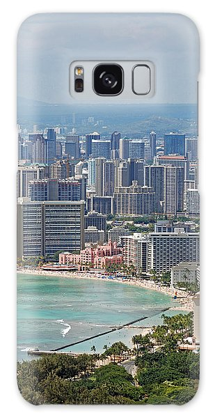 Honolulu Hawaii  Galaxy Case