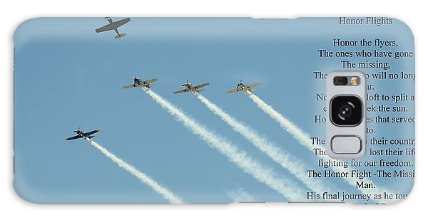 Honor Flight- Missing Man Formation Galaxy Case