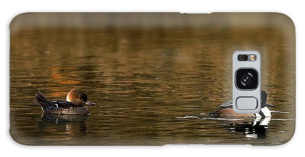 Hooded Mergansers Galaxy Case