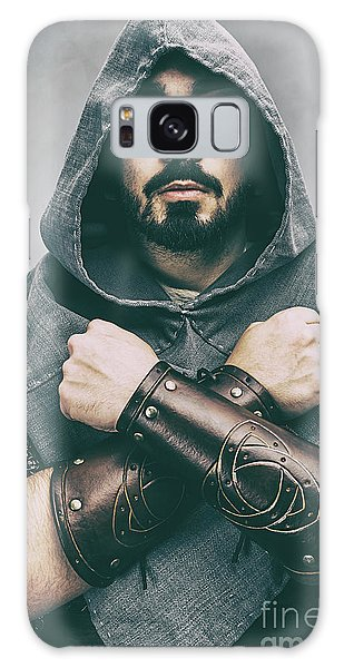 Cosplay Galaxy Case - Hooded Viking Warrior by Amanda Elwell
