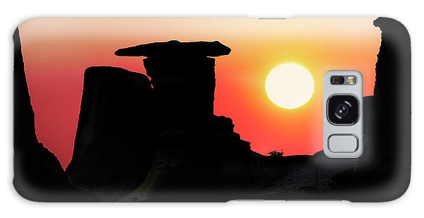 Hoodoo Sunrise Galaxy Case