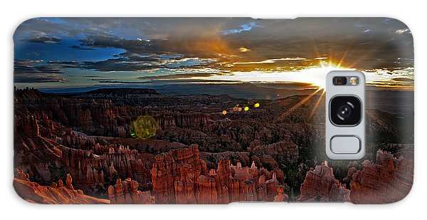 Hoodoos At Sunrise Bryce Canyon National Park Galaxy Case