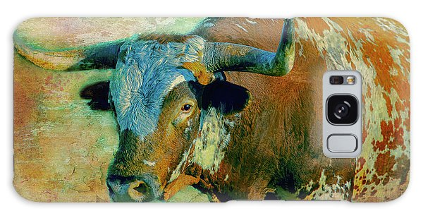 Hook 'em 1 Galaxy Case by Colleen Taylor