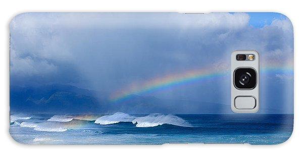 Ho'okipa Rainbow Galaxy Case