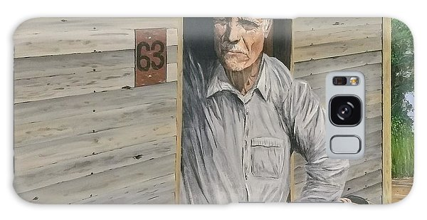 Galaxy Case featuring the painting Hooper Ranch #63 by Kevin Daly