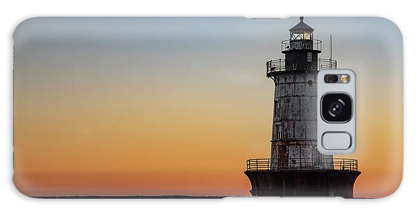 Hoopers Island Sunset Galaxy Case