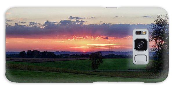 Hoosier Sunset Galaxy Case