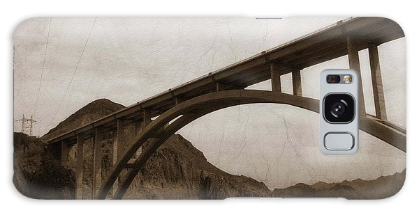 Hoover Dam Bridge Galaxy Case