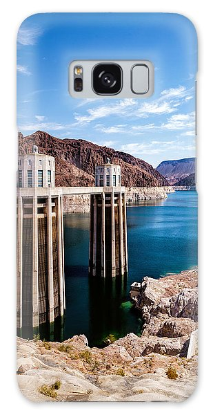 Hoover Dam Galaxy Case by Daniel Heine