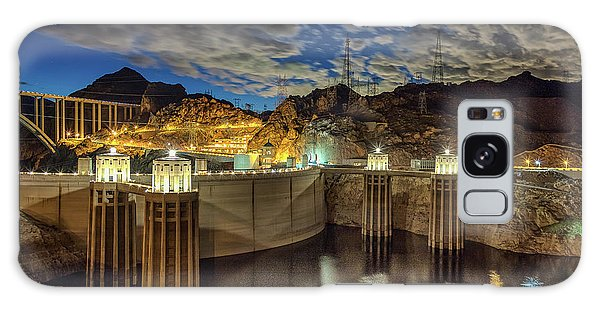 Galaxy Case featuring the photograph Hoover Dam by Michael Rogers