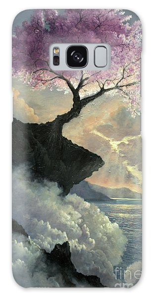 Galaxy Case featuring the painting Hope Inclines by Rosario Piazza