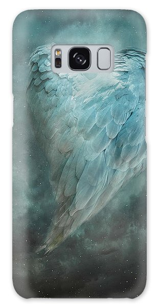 Hope Is The Thing With Feathers Galaxy Case