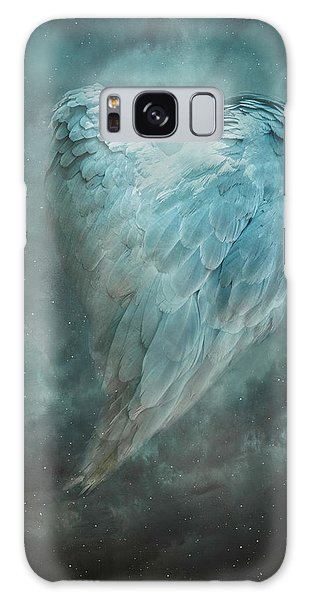 Galaxy Case featuring the digital art Hope Is The Thing With Feathers by Nicole Wilde