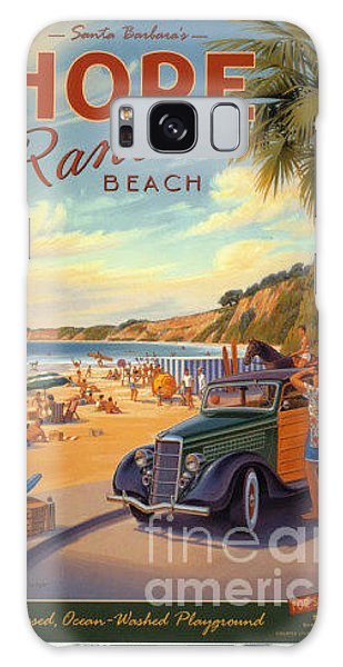 Hope Ranch Beach Galaxy Case