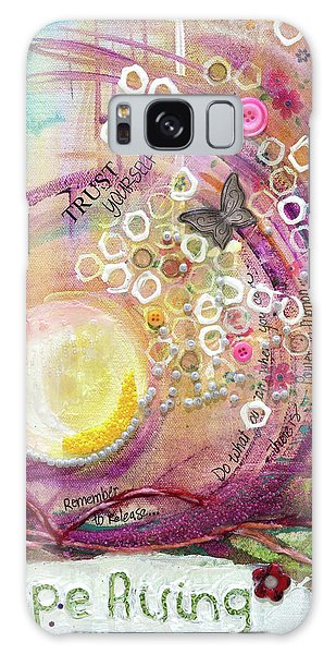 Galaxy Case featuring the painting Hope Rising by TM Gand