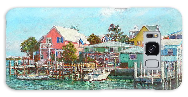 Hope Town By The Sea Galaxy Case