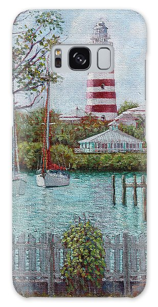 Hope Town Lighthouse Galaxy Case