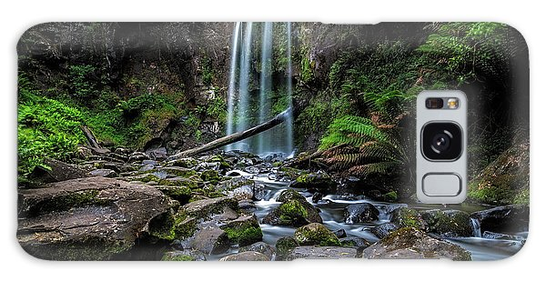 Hopetoun Falls Galaxy Case by Mark Lucey