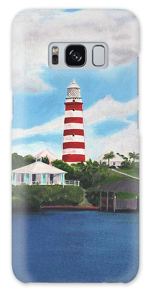 Hopetown Lighthouse Number Two Galaxy Case