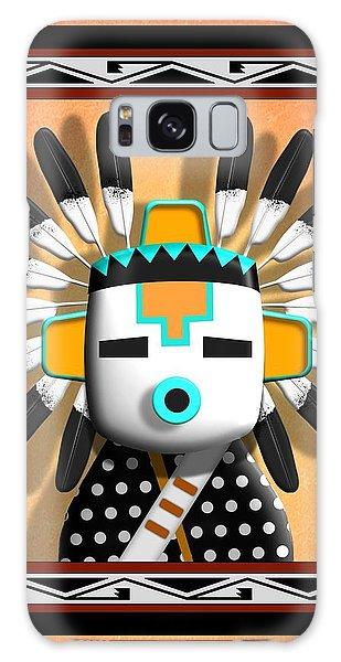 Hopi Kachina Mask Galaxy Case by John Wills