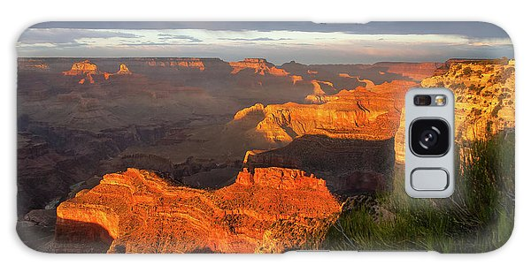 Hopi Point Sunset 1 Galaxy Case