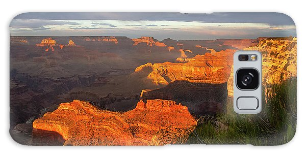 Hopi Point Sunset 1 Galaxy Case