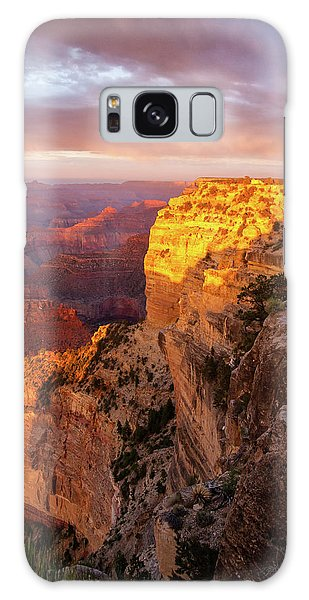 Hopi Point Sunset 2 Galaxy Case