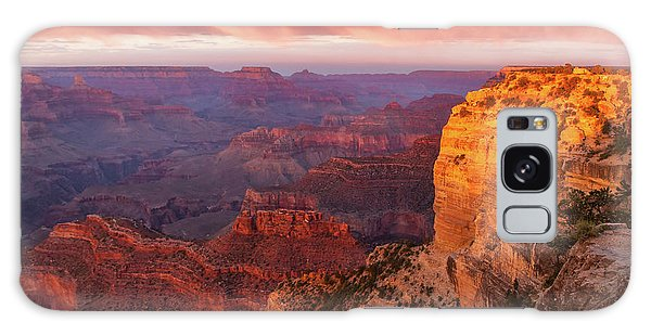 Hopi Point Sunset 3 Galaxy Case